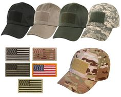 4431cbf7a95 Special Forces Operator Tactical American US Flag Patch Baseball Hat Cap