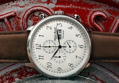 The AA Spirit of St. Louis Chronograph reviewed on Dappered.com