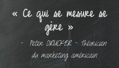 L'Analyse Web: Mesurez l'efficacité et la rentabilité de vos actions webmarketing Web Analytics, Google Analytics, Peter Drucker, Marketing, Chalkboard Quotes, Art Quotes, Mathematical Analysis