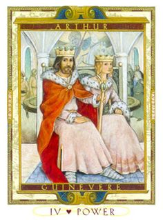 February 14 Tarot Card: The Emperor (Lovers Path deck) When you build a solid foundation of care and respect within yourself, the tenderness of another's love is even sweeter