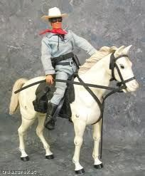 lone ranger toys - My son has the horse, but the masked man rode off into the sunset ages ago.