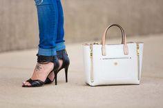 Nine West sandals // LipglossandLabels.com