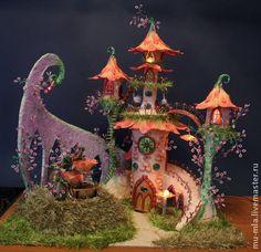 Кукольный дом ручной работы. Ярмарка Мастеров - ручная работа Замок королевских фей. Handmade.