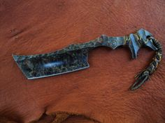 Razor style knife from SAGE blades