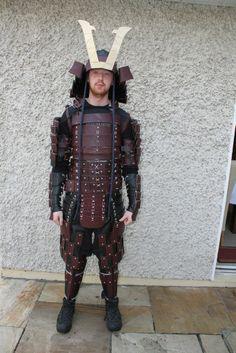 Samurai Armour #armor #costume #halloween #suit
