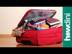 12 Travel Packing Tips: Howdini Hacks Finally! Your vacation is here, but the thought of packing all your stuff into one suitcase is freaking you out. Howdini Hacks shares some space-saving travel … source One Suitcase, Suitcase Packing, Packing List For Travel, Packing Tips, Travel Tips, Travel Destinations, Travel Hacks, Travel Ideas, Travelling Tips