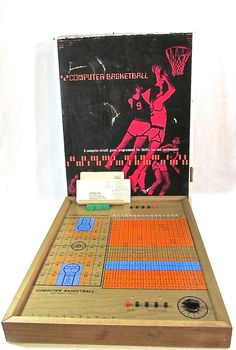 Vintage Electronic Data Controls Computerized Basketball Board Tabletop Game  #TBT #ThrowBackThursday