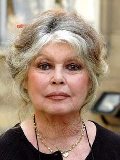 Brigitte Bardot … The Animal Lover. Bravo Brigitte for your fight for … Bridgitte Bardot, Bardot Brigitte, Protective Hairstyles, Ageless Beauty, French Actress, Aging Gracefully, Celebs, Celebrities, Silver Hair