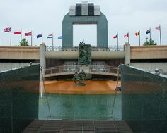 National D-Day Memorial, Bedford,Va Cool Countries, Countries Of The World, D Day Memorial, Bedford Va, Normandy Invasion, Tower Bridge, Marina Bay Sands, Places Ive Been, Virginia