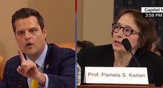 Matt Gaetz blows up on Pamela Karlan for trying to defend herself: 'You don't get to interrupt me! Stanford Law, Chuck Todd, Constitutional Law, Media Bias, James Madison, First Lady Melania Trump, Presidential Candidates, Bullying