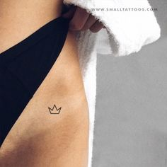 Small Crown Temporary Tattoo (Set of – Small Tattoos Tattoos And Body Art small tattoos Mini Tattoos, Little Tattoos, Sexy Tattoos, Cute Tattoos, Body Art Tattoos, Tattos, Finger Tattoos, Tiny Tattoos For Women, Meaningful Tattoos For Women