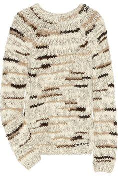 Chloé  Chunky-knit wool-blend sweater