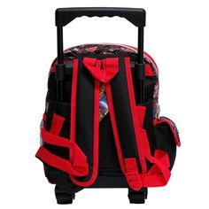 Marvel Avengers Infinity War Black and Red Small Boys Rolling School  Backpack -- A lot more info could be discovered at the photo link. f1f292e8b7d5d