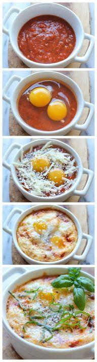 Italian Baked Eggs -