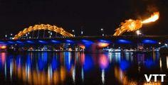 Dragon Bridge Danang Vietnam Places to visit