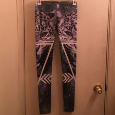 Leggings YOU'LL WANT THESE! Funky leggings! Do you think you can pull them off? I think so too. Dare to be different and try out these never before warn cheetah leggings. Pants Leggings