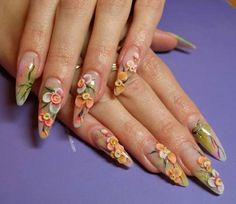 Photos of Beautiful Acrylic Nails | nail enhancements – Beauty Ramp – A Little obsessed with beauty ...