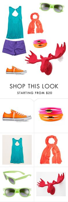 """""""#15"""" by w-ashley ❤ liked on Polyvore featuring Converse, Liza Schwartz, Aerie, White Stuff, BCBGMAXAZRIA and Alice + Olivia"""