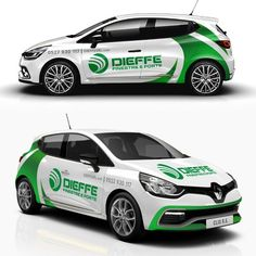 dieffesrl picked a winning design in their car, truck or van wrap contest. Wrap Advertising, Advertising Tools, Car Stickers, Car Decals, Mobile Food Trucks, Vehicle Signage, Van Wrap, Driving School, Smart Car