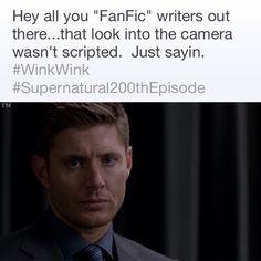(via Jensen Ackles on twitter) | Love it | Supernatural