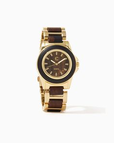 charming charlie   Ramsey Wooden Link Watch #charmingcharlie
