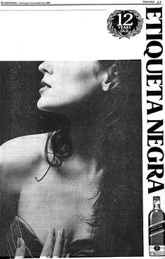 Whiskey Etiqueta Negra. Publicado el 02 de octubre de 1988.
