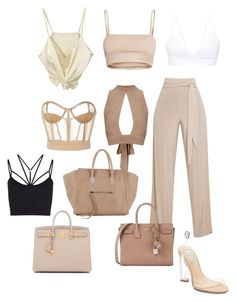 """Untitled #54"" by jsmalves on Polyvore featuring Topshop, Vera Wang, Yves Saint Laurent, CÉLINE, Hermès, Sweaty Betty and Steve Madden"