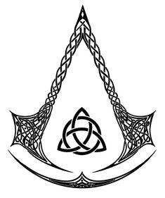 Here's the black and white version of the Celtic Assassin logo I did for people to have fun with and fandomize and whatnot since I don't actually own th. Celtic Assassins Black and white Assassins Creed Tattoo, Tatuajes Assassins Creed, Assassins Creed Outfit, Assassin Logo, Celtic Tattoos, Viking Tattoos, Body Art Tattoos, Sleeve Tattoos, Assassin's Creed Wallpaper