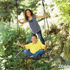 ALL OUT FUN PLATFORM SWING
