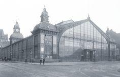Markthalle in Hannover,  Eröffnung 18.10.1892