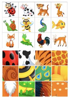 Dear Zoo Activities, Preschool Activity Books, Emotions Preschool, Activity Sheets For Kids, Educational Activities, Preschool Activities, Activities For Kids, Cute Powerpoint Templates, Mickey Coloring Pages
