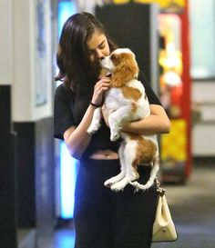 November 15: Selena & Charlie at the Los Angeles Kings Valley Ice Center in Panorama City, CA.