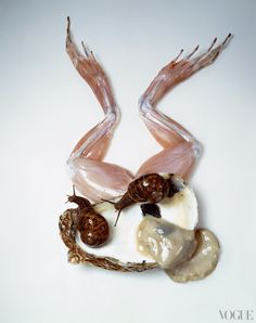 Vogue, May 1989    This image ran with an article on food phobias by Jeffrey Steingarten.    Photographed by Irving Penn