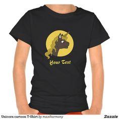 Unicorn cartoon T-Shirt