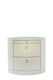 Hastings Nightstand By Powell Bonnell | These bedside tables bring functional style to your bedroom's décor. | https://deringhall.com #interiordesign #nightstandsideas #nightstand #masterbedroom #bedroom #homedecor