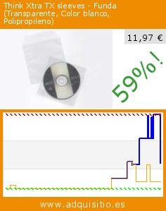 Think Xtra TX sleeves - Funda (Transparente, Color blanco, Polipropileno) (Ordenadores personales). Baja 59%! Precio actual 11,97 €, el precio anterior fue de 29,24 €. http://www.adquisitio.es/think-xtra/tx-sleeves-funda