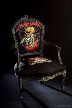 Metallica Chair....Yes please!!!