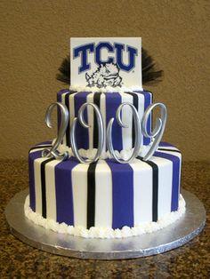 Cake Decorating Classes Tyler Tx : Tarleton State University cake! Even has my name on it ...