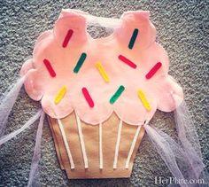DIY Cupcake Costume From Felt