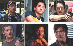 Through the Seasons; Glenn & Daryl