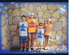 Walk by Faith not by sight .... Autism walk 2013 La Familia Castillo