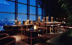 Romantic restaurant desktop wallpaper
