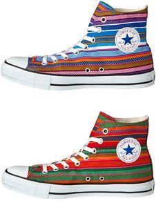 Zapatillas Converse Chuck Taylor All-Star Hi Huipil. El mexican style.                                                                                                                                                                                 Más