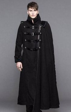 Steampunk Buckles Trench Coat. Steampunk Trench Coat has high ...