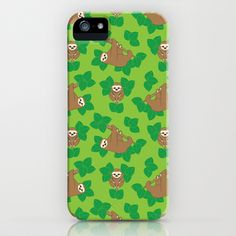 Stanley Sloth iPhone & iPod Case by Joanne Paynter - $35.00