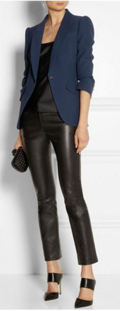Crepe blazer from Alexander McQueen | PS Dept.