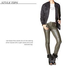 b72e18ec9 Abez - ShoeDazzle | My Style | Thigh high platform boots, Shoe ...