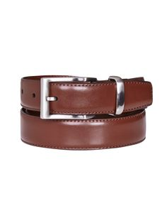 The Conrad brown leather belt from Oxford is a perfect addition to any groom or groomsmen look. Pair with a crisp shirt and tailored trousers for a timeless look.