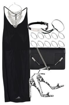 """""""Untitled #3463"""" by plainly-marie ❤ liked on Polyvore featuring Yves Saint Laurent, ASOS, Cartier and Monica Vinader"""