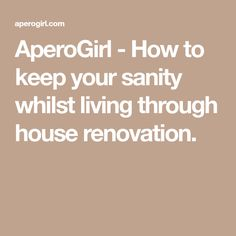 Apero House Renovation Survival For S